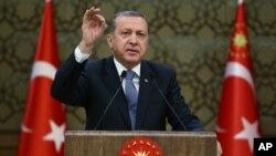 Türkiyə prezident Rəcəb Tayyib Ərdoğan