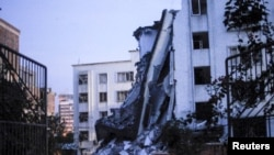 廣西爆炸案現場