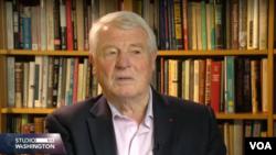 Paddy Ashdown, bivši visoki predstavnik u BiH, u razgovoru sa novinarkom Glasa Amerike Amrom Alirejsović.
