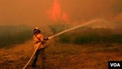 Texas sufre su peor sequía en décadas, resecando la tierra que ha alimentado los incendios.