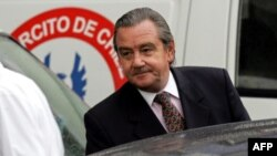 FILE - Retired colonel and former mayor of the town of Providencia, Cristian Labbe, in Santiago, Chile, June 21, 2005.