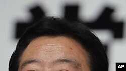 ທ່ານ Yoshihiko Noda ຖືກເລືອກເປັນນາຍົກລັດຖະມົນຕີໃໝ່ຂອງ ຍີ່ປຸ່ນ. ວັນທີ 30 ສິງຫາ 2011.