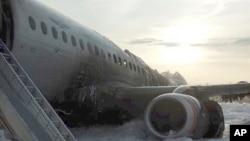 En los restos del avión se recuperaron 41 cadáveres, según el ministro ruso de Transportes, Yevgeny Dietrich. Seis personas que sobrevivieron fueron hospitalizadas.