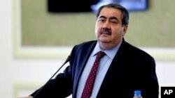 هوشیار زیباری، وزیر اقتصاد عراق، که روز چهارشنبه به دنبال رأی عدم اعتماد مجلس از سمت خود برکنار شد.