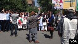 اعتراضهای مدنی از روز چهارشنبه هفته گذشته تا اکنون جریان دارد