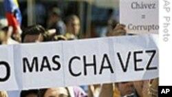全球许多国家举行反查韦斯游行