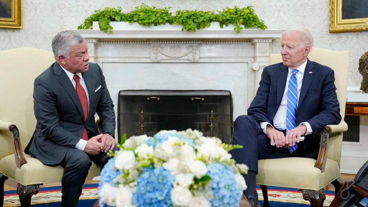Wapres Harris and Menlu Blinken Sambut Kunjungan Raja Abdullah II