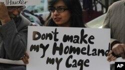 لاپتا افراد کی بازیابی کے لیے سرگرم کارکنان وقتاً فوقتاً مظاہرے بھی کرتے رہے ہیں (فائل فوٹو)