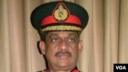 Mantan Panglima Militer Sri Lanka, Jenderal Sarath Fonseka.