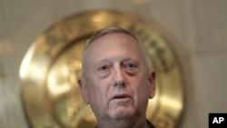 美國中央司令部司令詹姆斯.馬蒂斯上將(資料圖片)