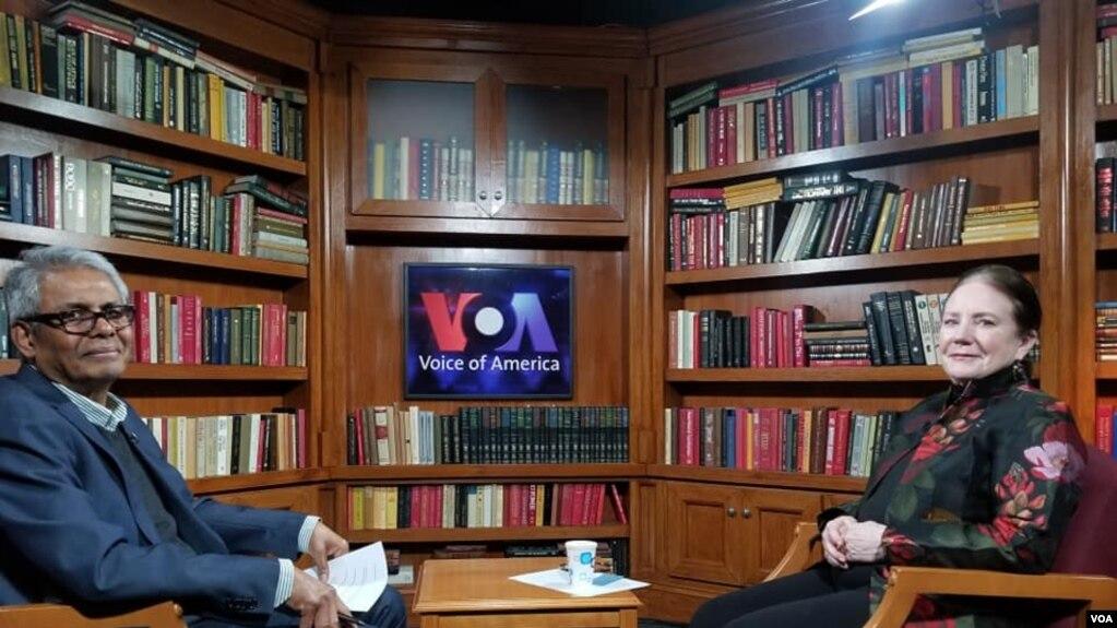 Kyaw Zan Tha interview Priscilla Clapp