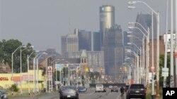 미국 디트로이트시가 재정난으로 18일 연밥 법원에 파산 보호 신청을 했다.