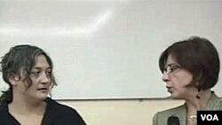 Tija Memišević, direktorica Evropskog istraživačkog centra u Sarajevu i urednica Programa Glasa Amerike za BiH Džeilana Pećanin Alison