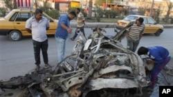 Eksplozija bombe u Sadr Sitiju u Bagdadu, 28. oktobar, 2012.