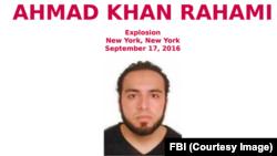 미 연방수사국, FBI가 지난 17일 뉴욕시 폭발사건 관련된 용의자로 아프가니스탄계 미국인 아흐마드 칸 라하미를 수배하고, 사진을 공개했다.