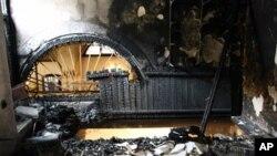 Απο την καταστροφή Εβραϊκής συναγωγής στη Κρήτη το 2009
