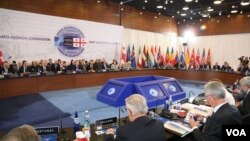NATO-საქართველოს კომისიის სხდომა