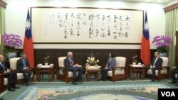 蔡英文:中国单方面改变和平稳定现状,升高区域紧张情势