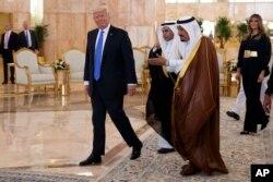 Tổng Thống Trump ở Ả rập Xê út