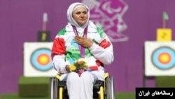 زهرا نعمتی، قهرمان رشته تیر و کمان و پرچمدار کاروان جمهوری اسلامی ایران در المپیک ریو است.