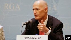 El gobernador de Florida denuncia el arresto de Eduardo Cardet, coordinador nacional del Movimiento Cristiano de Liberación (MCL) y la reciente detención de Berta Soler, líder de las Damas de Blanco.