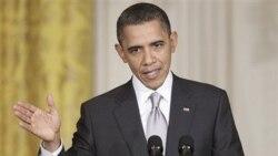 اوباما: قذافی مشروعیت رهبری ندارد و کناره گیری کند