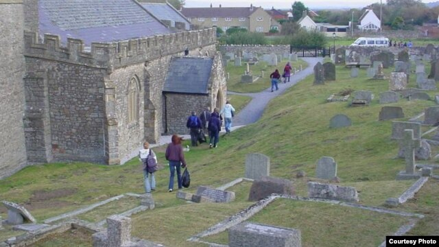 Britain's 13th century Berrow Church in the Bristol Channel region was once inundated by sand dunes during the so-called Medieval Warm Period.