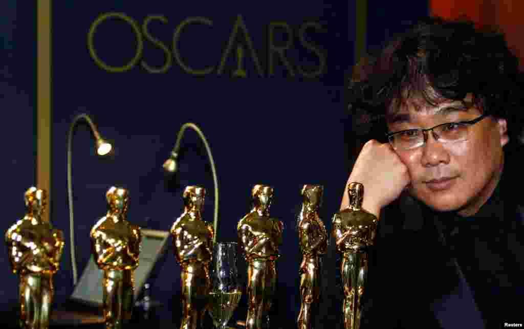 """Kaliforniya - Los Anceles, """"Patazit"""" filminin rejissoru Pon Cun-ho ən yaxşı film kateqoriyasında qalib olub"""