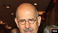 Mohammed ElBaradei, Mantan Direktur IAEA dan penerima Hadiah Nobel Perdamaian.
