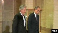 Thương thuyết gia cấp cao của Hoa Kỳ và Nga đến hội nghị tại Geneva về cuộc khủng hoảng Syria, ngày 11/1/2013.