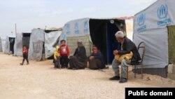 Le camp de réfugiés de Sehba 1 en Syrie le 20 juin 2020.