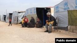 Sehba, camp de réfugiés en Syrie.