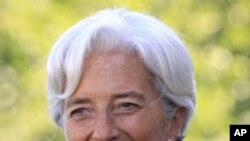 International Monetary Fund (IMF) Managing Director Christine Lagarde (file photo).