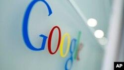 谷歌公司的徽标。