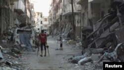 Razoreni sirijski grad Homs