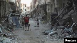 Desde el inicio del conflicto en Siria han muerto más de 100 mil personas y 6 millones han sido desplazadas de sus hogares.