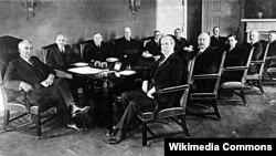 President Warren Harding's first cabinet, 1921