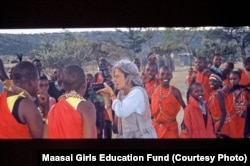 Photographer Barbara Shaw founded the Maasai Girls Education Fund to help Maasai women and girls become empowered through education.