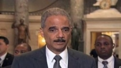 Eric Holder obligado a comparecer ante Congreso de EE.UU.