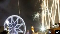 2014世界各地慶祝新年的到來
