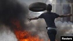 Manifestaions au Burundi