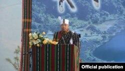 ခ်င္းျပည္မွာ သဘာ၀ခရီးသြားလုပ္ငန္းဦးစားေပးဖို႔ သမၼတတိုက္တြန္း ( Myanmar President Office)