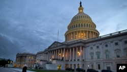 2013年10月15日美國國會外觀。