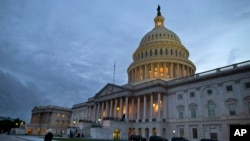 FILE - A view of the U.S. Capitol building on Oct. 15, 2013 in Washington.
