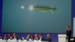 Ông Wilbert Paulissen công bố kết quả sơ bộ của cuộc điều tra vụ máy bay MH17 bị bắn rơi, trong một cuộc họp báo tại Nieuwegein, Hà Lan, 28/9/2016.