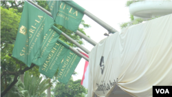 一年一度集中討論亞太地區安全形勢的香格里拉對話會在新加坡登場(資料照,美國之音黎堡)