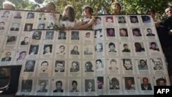 Obeležavanje Medjunarodnog dana nestalih u centru Beograda (arhivski snimak)