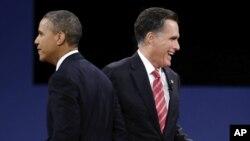 奧巴馬和羅姆尼星期五繼續為總統競選進行衝刺