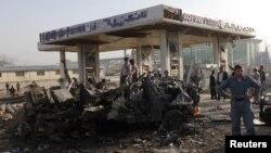 阿富汗警方調查9月18日發生的自殺爆炸事件