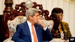 Laos US Kerry